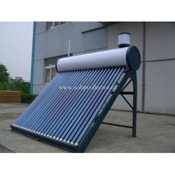 真空チューブ太陽光発電システム