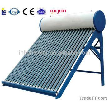 インテグラル熱サイフォンガラス管太陽熱温水器