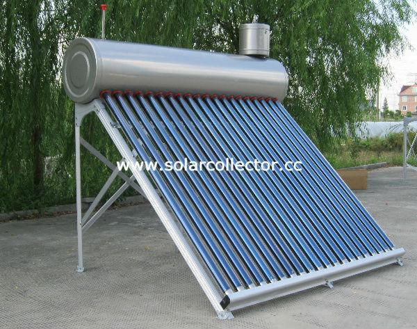 国内インテグラル太陽熱温水ヒーター