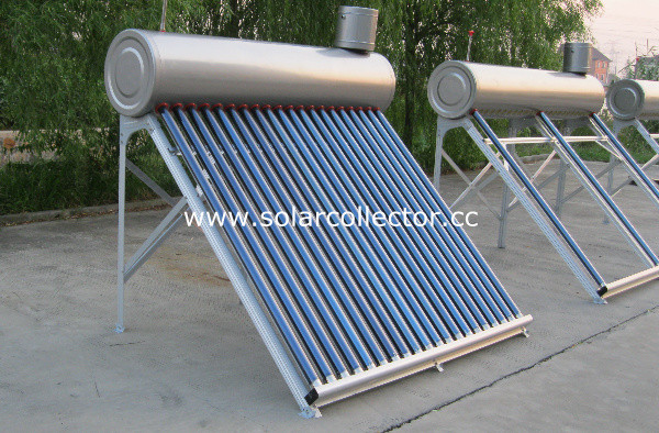 Domestic Use Glass Pipe Solar Water Boiler