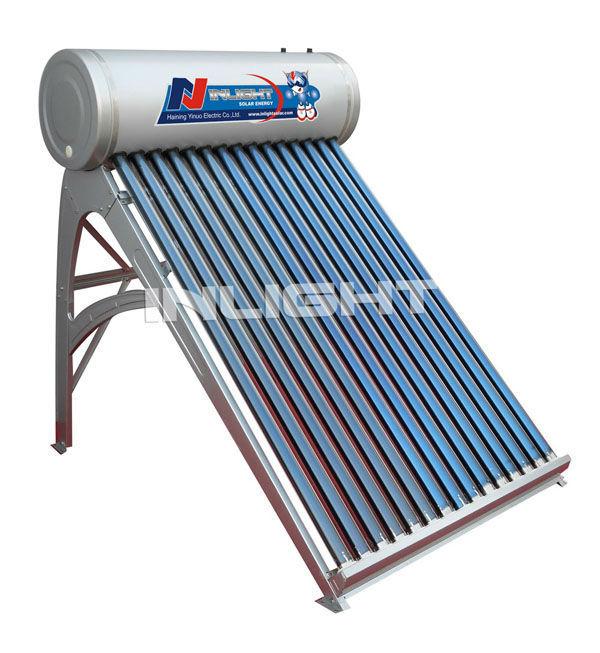 低圧自動ガラス管太陽熱温水器