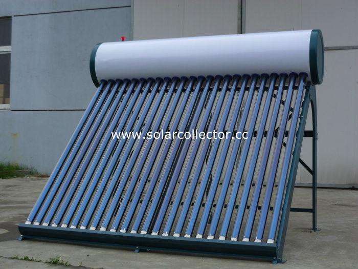 コンパクトな真空管太陽熱温水器