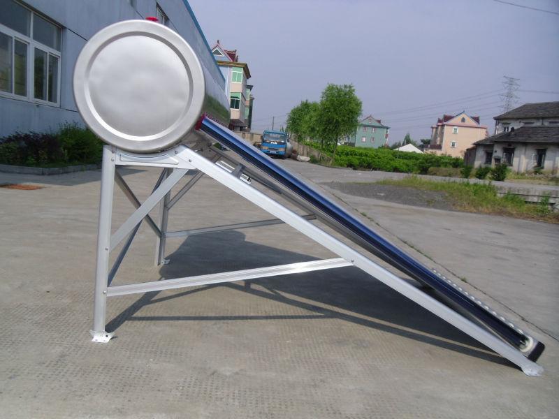 自動非- 加圧太陽熱温水器