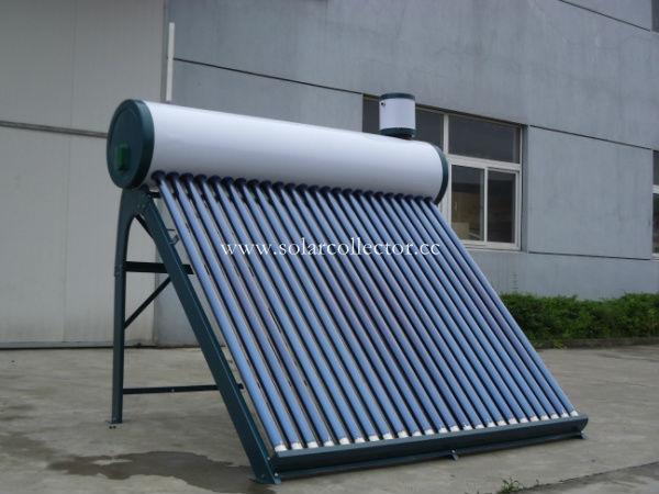 コンパクトな真空管ソーラーボイラー