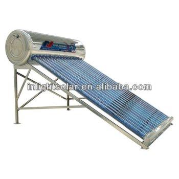 アルミ太陽熱温水器
