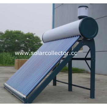 直接プラグ真空管太陽熱温水器