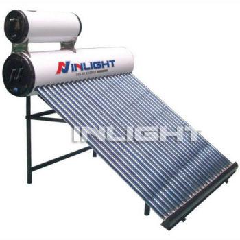 真空管熱アシスタントタンクで太陽熱温水器