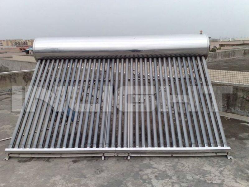 コンパクトな非- 加圧太陽熱温水器ステンレス
