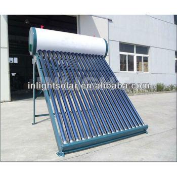 非- 加圧されたカラー鋼板コンパクトな真空管太陽熱温水器