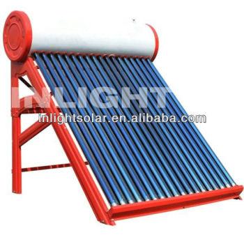 非- 加圧されたカラー鋼板コンパクトな真空管ソーラー間欠泉