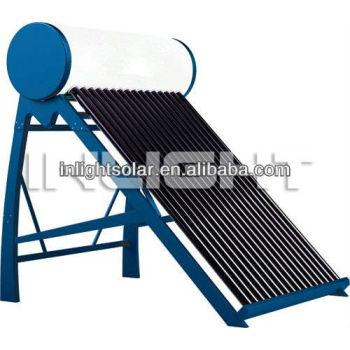 非- 加圧された真空管屋上ソーラー温水器