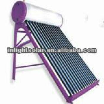 非- 加圧された真空管太陽熱温水暖房