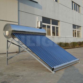 統合された非圧力ステンレス鋼太陽熱温水ヒーター