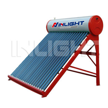非圧力カラー鋼板定期的な太陽熱温水器