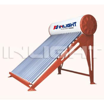 カラー鋼板直接プラグ非圧力太陽熱温水器