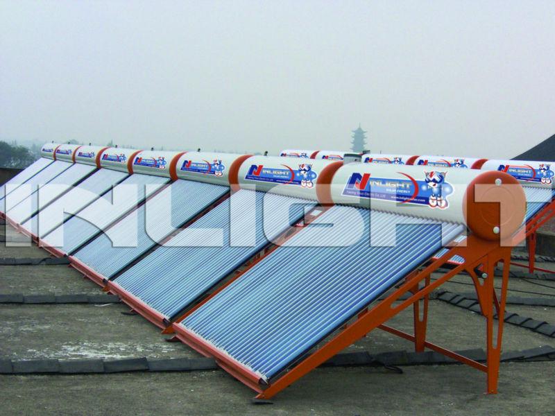 カラー鋼板製非- 加圧されたボイラー太陽ヒーター