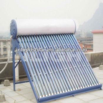 統合された非- 加圧された熱サイフォンソーラー温水器