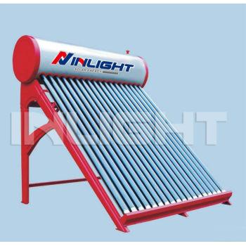 非圧力カラー鋼板ダイレクト太陽熱温水器