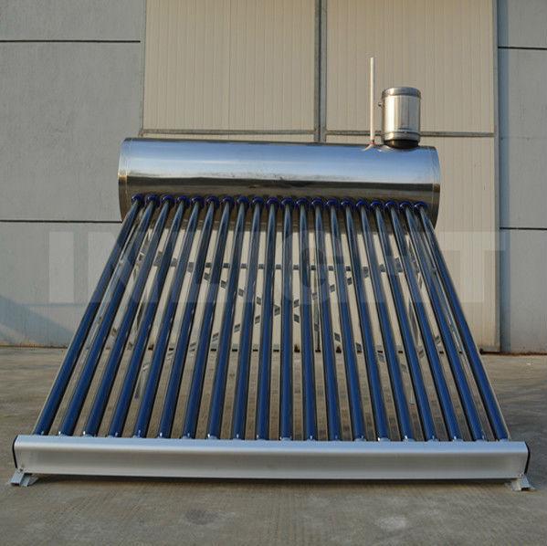 統合された非圧力ステンレス製家庭用太陽熱温水器