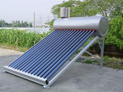 統合された非- 加圧太陽熱温水器