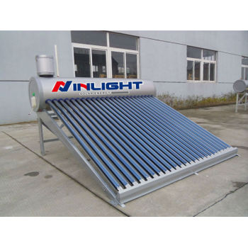熱サイフォンシステムのガラス管太陽熱温水器低圧