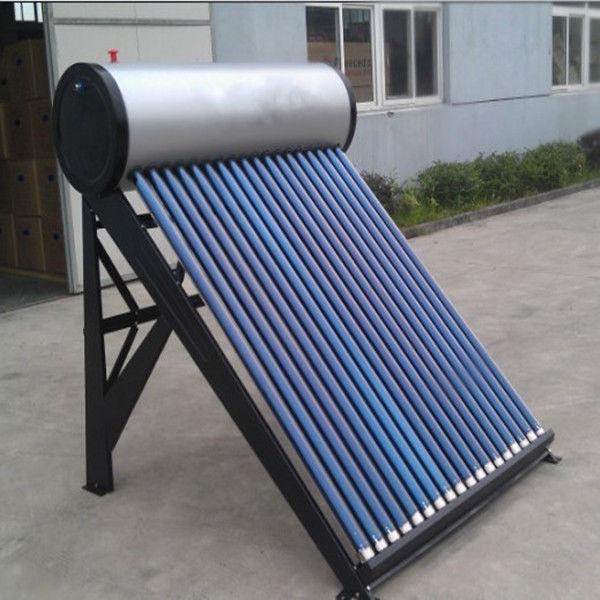 銀プレートpvdfパッシブ太陽熱温水ヒーター