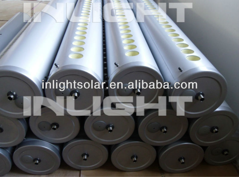 Evacuated Tube Low Pressure Solar Collectors