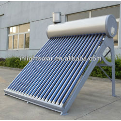 180L Double Tanks Domestic Solar Hot Water Heaters