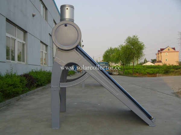 Fluorocarbon plate glass tube solar heating