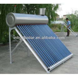 CE certified Non-Rust SUS304 SS Solar Hot Water
