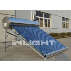 China Solar Water Heater with All Glass Heat Pipe