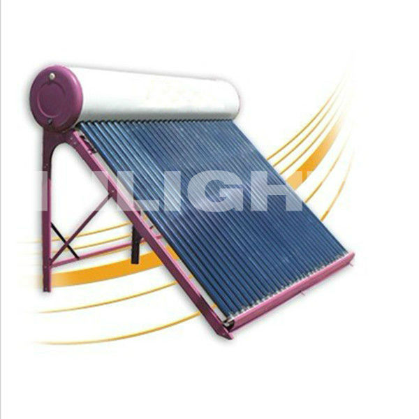 Colour Steel Passive Solar Water Heater