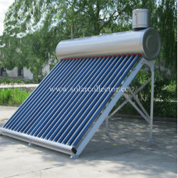 Integrated Non-pressurized solar bathroom heater