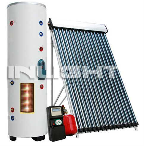 residential split hot solar water heater heat pipe