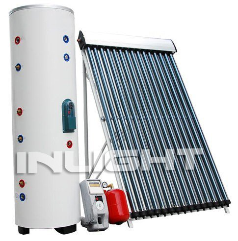 automatic split pressurized solar water heater high efficiency