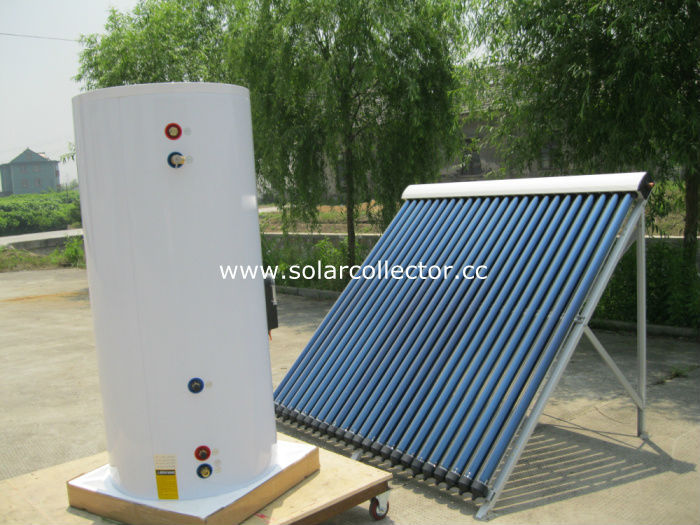 Separate Copper Coil Pressurized Solar Water Heater System