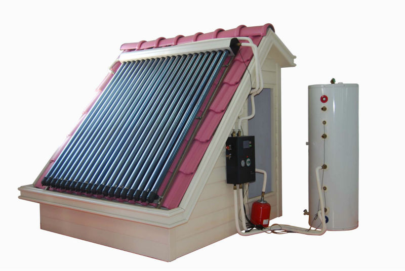Wall Mounted Split Vacuum Tube Solar Water Heating System