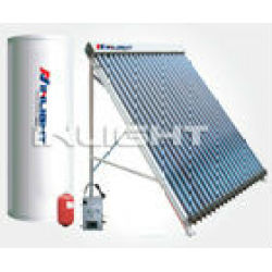 closed loop split pressurized solar Water Heater