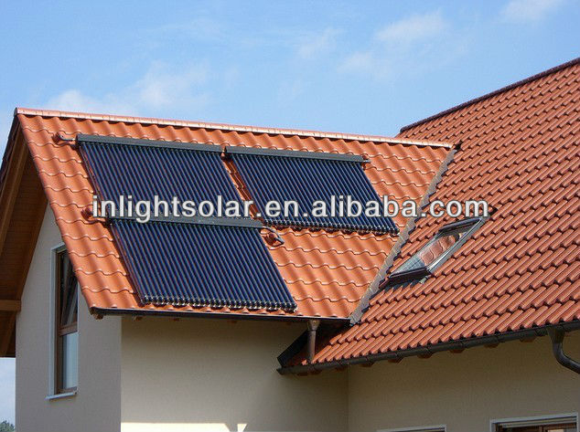 0.6MPa Working Pressure Anti-freeze Solar Water Heating System