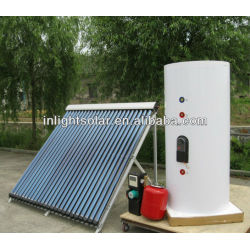 400L Pump Circulation Solar Hot Water System with Heat Pipe Collector