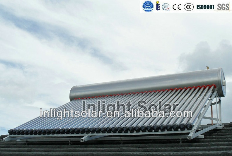 Customized Stainless Steel Solar Hot Water Heater(for domestic use)