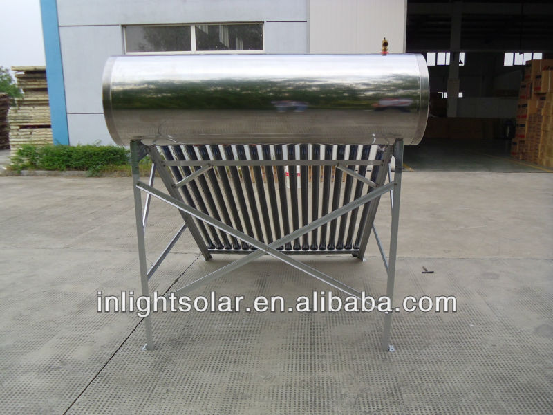 250L Stainless Steel Pressurized Solar Hot Heater