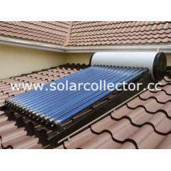 Integrated Heat Pipe Solar Water Heater (high pressure)