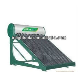 Integrated Pressurized Thermosyphon Solar Water Heater