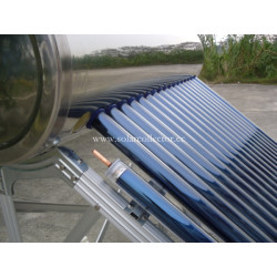 stainless steel pressurized solar heating system