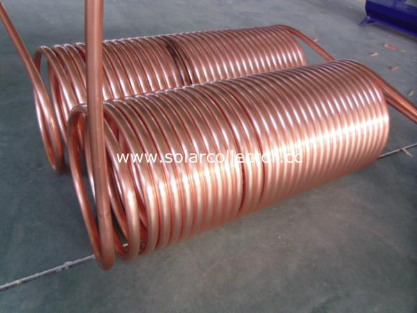 Copper Preheat Solar Water Heater(Copper Coil)
