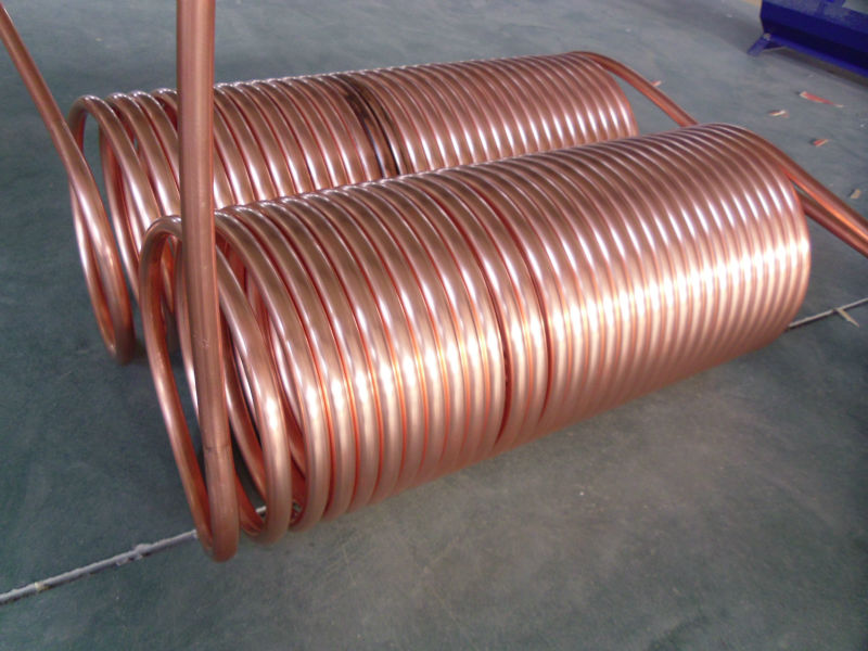 solar water heater - china Copper Coil Pressurized Solar Water Heater ...