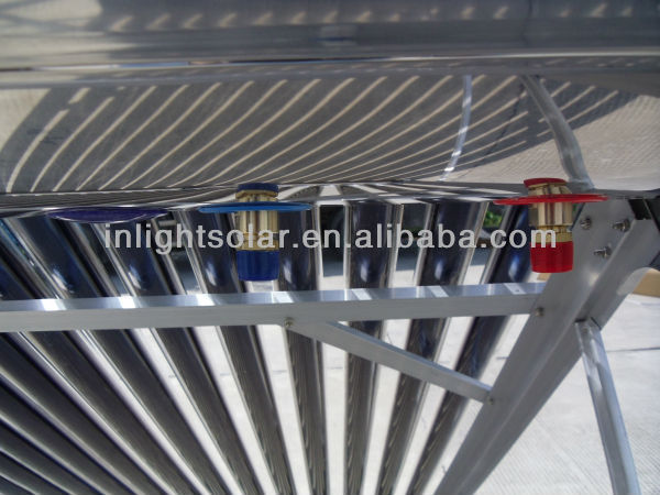 Stainless Steel Copper Coil Solar Water Heaters