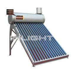 tank pressurized solar hot water heater copper coil for preheat