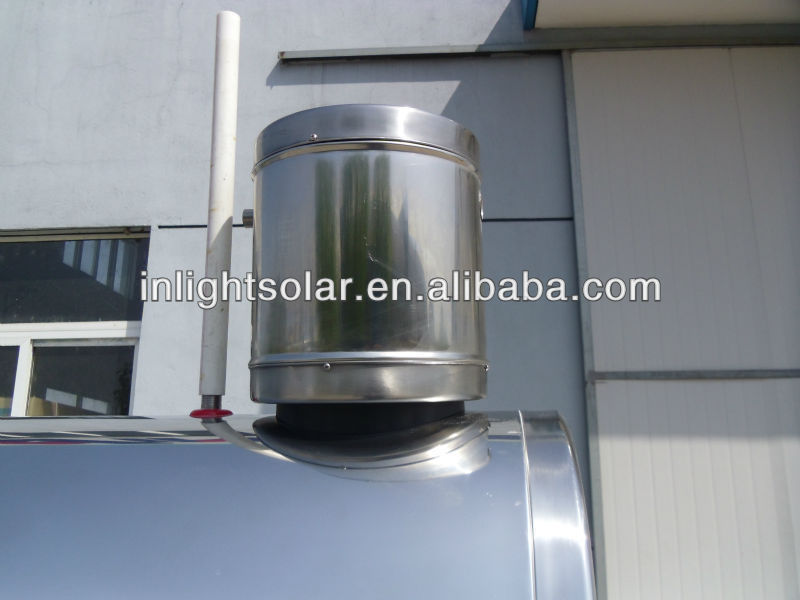 Pressurized Pre-heat Solar Boiler with Copper Coil